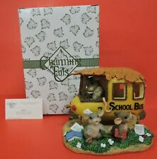 Special Edition Charming Tails School'S Out For The Summer Figurine 98/251-Bus
