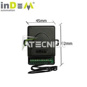 Ricevente radio universale automazione cancelli serrande 433 mhz FAAC BFT CAME