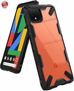 Case Designed For Google Pixel 4 XL Shockproof Hard Back And Soft Bumper Cover