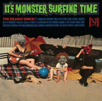 The Deadly Ones - It's Monster Surfing Time [New Vinyl]