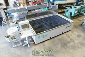 6' x 10', Used Flow CNC Waterjet Cutting System (GUARANTEED BY FLOW DEALER!) Cut