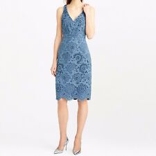 $650 J CREW COLLECTION BEADED FLORAL LACE DRESS NWT 6 #C5473 tag s-2