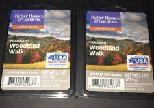2  BETTER HOMES & GARDENS Wax Melts FRAGRANT WOODLAND WALK 2.5 Oz Each
