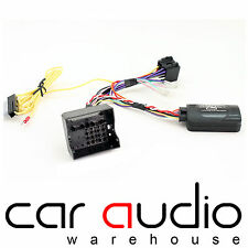 CTSBM005.2 BMW 5 Series E60 2005 On Car Stereo Steering Wheel Interface Control
