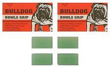 BOWLS Grip Aid Bull Dog Bowls Grip All Purpose Sports Grip Four Blocks 20g Total