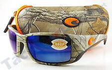 Costa BL69OBMP Blackfin Sunglasses 580P Blue Mirror Lens Realtree Xtra Camo!