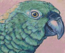 SCALA 1:12 SMALL VERDE FIMO Pappagallo Casa delle Bambole Accessorio esotico Bird P2