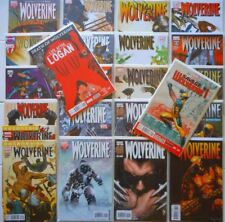 24bk WOLVERINE LOT/Vol 3/SAVAGE WOLVERINE #1/WEAPON X PROJECT 1/LIFE AFTER LOGAN