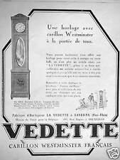 PUBLICITÉ VEDETTE LE CARILLON WESTMINSTER HORLOGE À LA PORTÉE DE TOUS