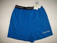 Calvin Klein Underwear Boys 1 Pair Boxer Shorts Sz Extra Small XS 4-5 Blue