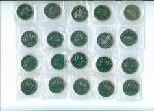 COMPLETE SET OF 20 CANADA DOLLARS 1968 - 1987  MINT SEALED PROOFLIKES