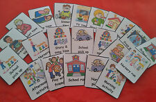 DAILY ROUTINE CARDS FOR CHILDMINDERS  -COMMUNICATION / SPECIAL NEEDS/EYFS