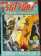 SGT. FURY 97 SERGEANT 1963 & HIS HOWLING COMMANDOS NICK AGENT OF SHIELD VG