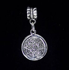 LOOK The Sun stone symbol bead charm jewelry sterling silver