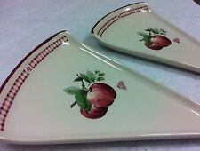Pfaltzgraff DeliciousTriangle/Pizza Plates (2) ~NEW~
