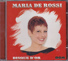 CD 12T MARIA DE ROSSI DISQUE D'OR BEST OF 2001 TBE