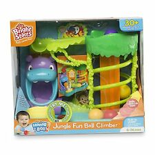 New bright starts jungle fun ball grimpeur-avec 30 mélodies, chants & sons