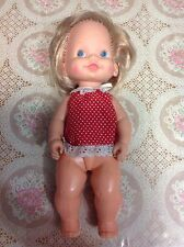 Vintage 1980 Tippee Toes Doll with Original Clothes