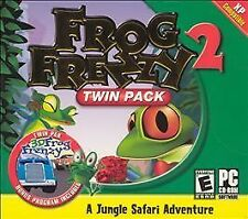 Video Game PC Frog Frenzy & Frog Frenzy 3D Twin Pack NEW SEALED