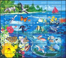 Cocos (Keeling) 1999 Turtle/Butterfly/Birds/Coral/Marine/Nature 20v sht (b5107)