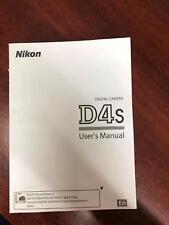 Digital Camera D4s Users Manual English