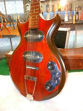 Magnatone Mark IV 1956 Rare Guitar Paul Bigsby Design w' Gibson Case