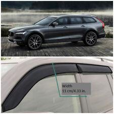 VE12216 Window Visors Vent Wide Deflectors For Volvo V90 Cross Country 2016-