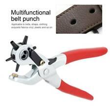 Leather Punch Eyelet Plier 5 Hole Size Household Belt Tools Leathercraft