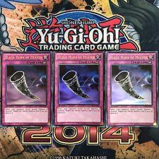 3X Black Horn of Heaven LCJW-EN297 Ultra Rare 1st Ed Playset (NM/Mint) YuGiOh!