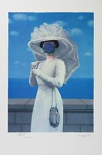 René Magritte - The Great War (lithograph, plate-signed & numbered)