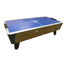 Dynamo Pro Style 7' Branded Oak Home Air Hockey Table