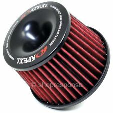 """APEXi Power Intake Air Filter and Flange Universal 65mm / 2.5"""" Inlet"""