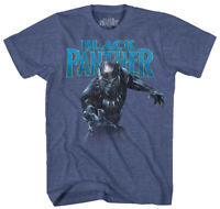 Boys' Black Panther T'Challa Blue Short Sleeve T-Shirt Large