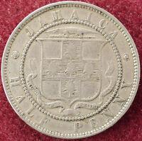Jamaica Halfpenny 1870 (D2004)