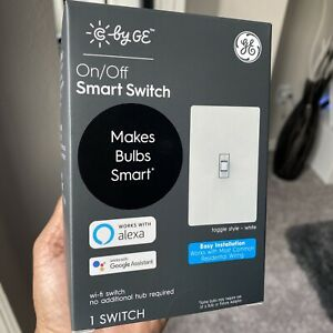 C by GE On/Off Smart Switch + Toggle works w/ Alexa & Google Home • Ships Today!