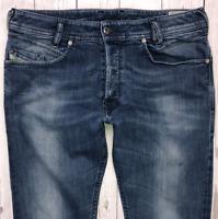 Mens DIESEL Iakop Jeans W31 L30 Blue Regular Slim Tapered Wash 0667F_STRETCH