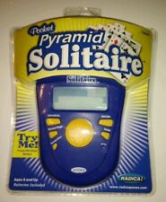 Radica Solitaire Pocket Pyramid Electronic Handheld Game