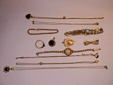 Not scrap Gold 9ct Hallmarked Rings ~ Chains ~ Watches ~ Pendants ~ 49.89 grams
