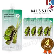 MISSHA Pure Source Pocket Pack Sleeping Mask 10ml Aloe 4pcs Night Skin Care
