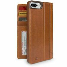 Twelve South Journal Leather Folio With Card Slots for iPhone 7 Plus Cognac