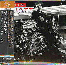 JOHN HIATT-RIDING WITH THE KING-JAPAN MINI LP SHM-CD G00