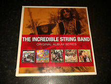 THE INCREDIBLE STRING BAND - ORIGINAL ALBUM SERIES 5 CD  2012 WARNER NEW SEALED