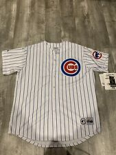 Sammy Sosa Chicago Cubs Majestic Baseball Jersey Mens Size XL Stitched Logos NWT