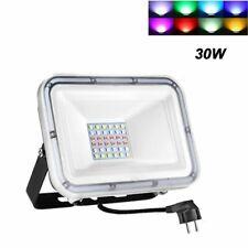 Led Flood Light 100W 50W 30W 20W Watt Outdoor Lighting Fixtures w/ Us Plug