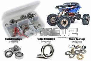 RC Screwz RCR050R RedCat Rockslide RS10 XT Rubber Shielded Bearings Kit