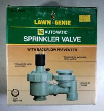 Lawn Genie Automatic Sprinkler Valve Backflow Preventer