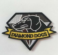 Metal Gear Solid Diamond Dogs Patches ARMY MORALE HOOK & LOOP PATCH  AA 1111