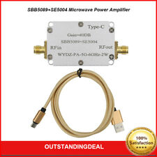 5g 6ghz Rf Power Amp Microwave Power Amplifier Rf Power Amplifier Gain 40db