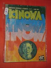 KINOWA FORMATO BONELLI -N° 7 - DEL 1976-EDITORIALE DARDO FUMETTI -ORIGINALE