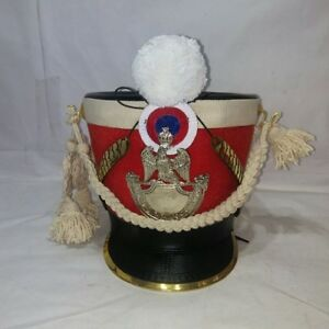 Tschako Pickaxe Hood Shako France Napoleon Waterloo Infantry lines